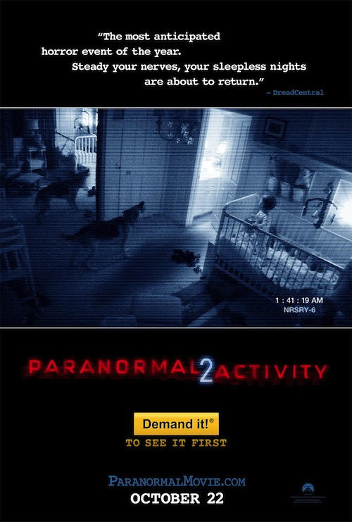 Paranormal 2 Activity poszter