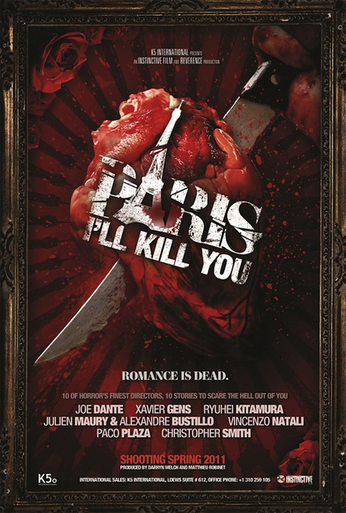 Paris, I'll kill you posztere