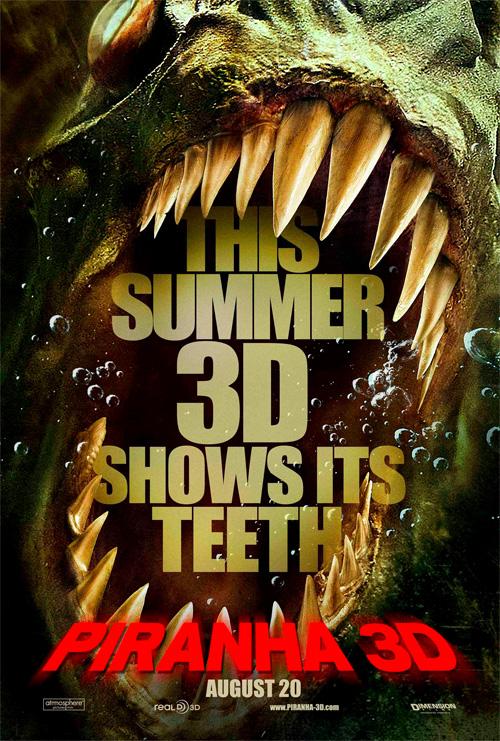 a Piranha 3D posztere