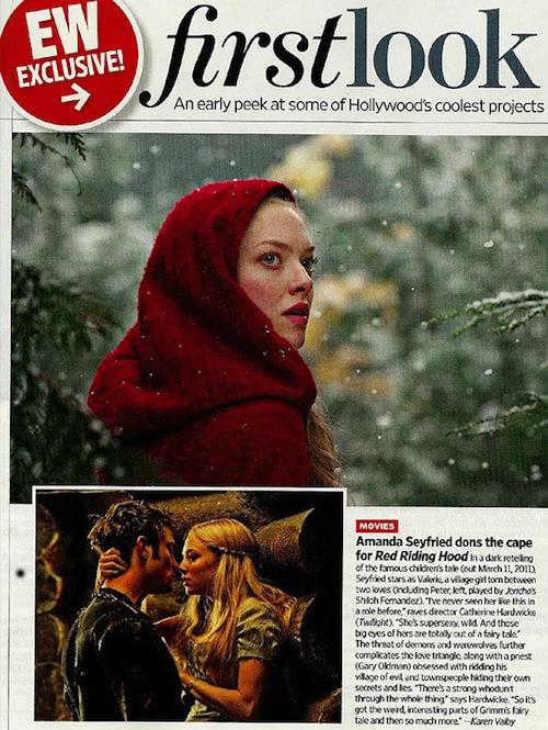 Red Riding Hood épp a felszerelésben