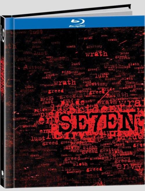 a Se7en bluray csomagolása