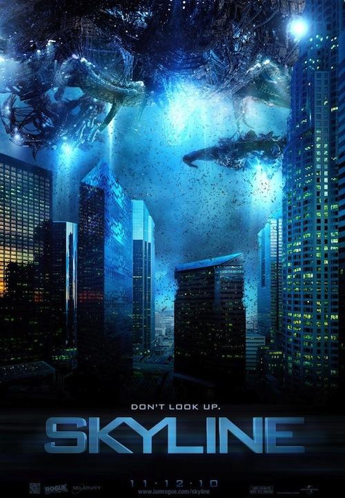 a Skyline posztere
