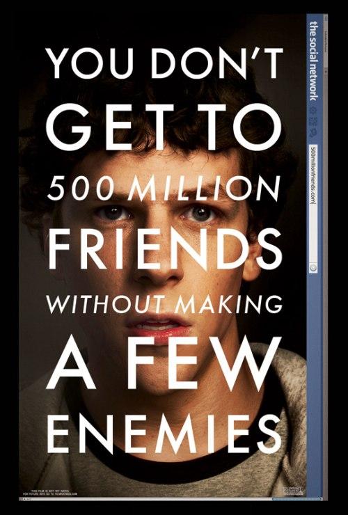 a Social network posztere