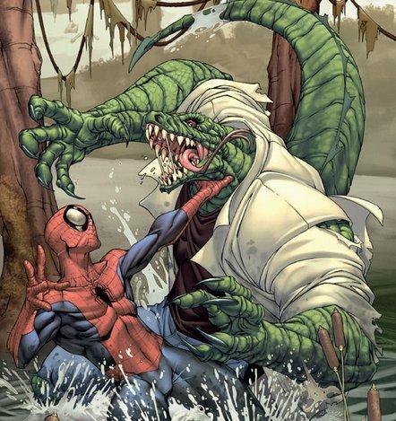 A Lizard lesz Pókember ellenfele