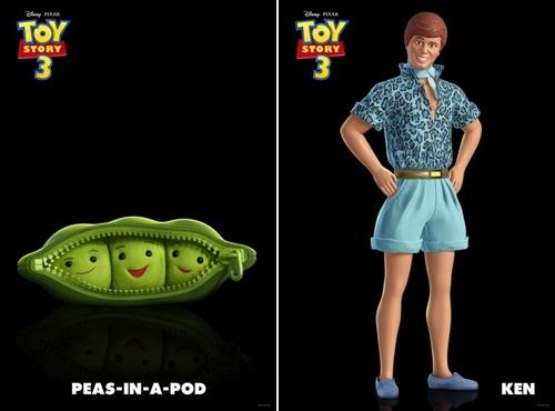 az új Toy Story szereplők