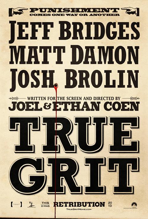 True Grit posztere