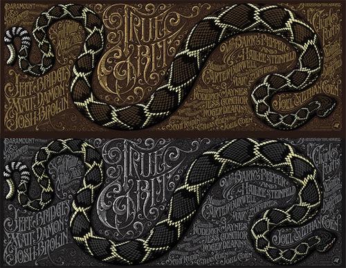 True Grit csögőkígyós