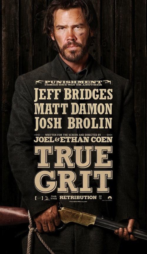 True Grit főszereplői poszteren