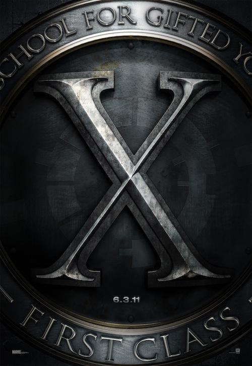 az X-Men: First Class posztere