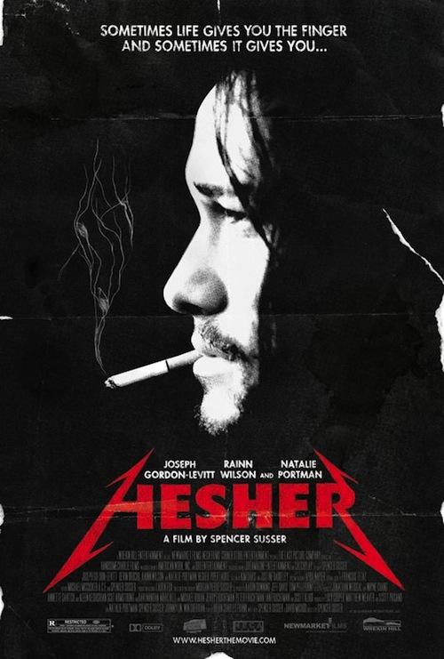 JGL cigizik a Hesher poszteren