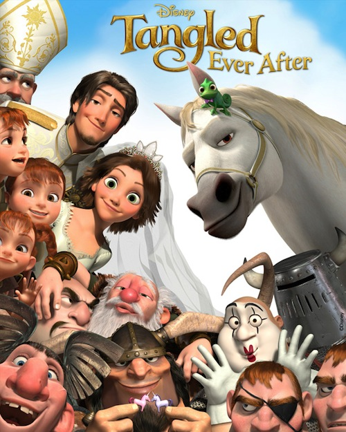 A Tangled Ever After teaserposztere
