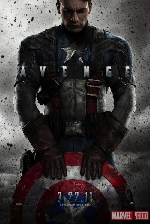 Amerika kapitány végre poszteren