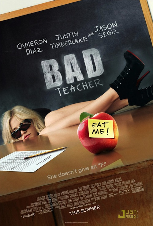 A Bad Teacher posztere