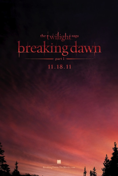 Breaking Dawn Part 1 posztere