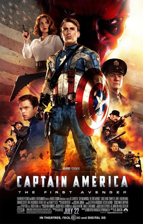 Captain America utolsó posztere