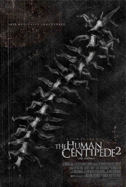 The Human Centipede 2 posztere