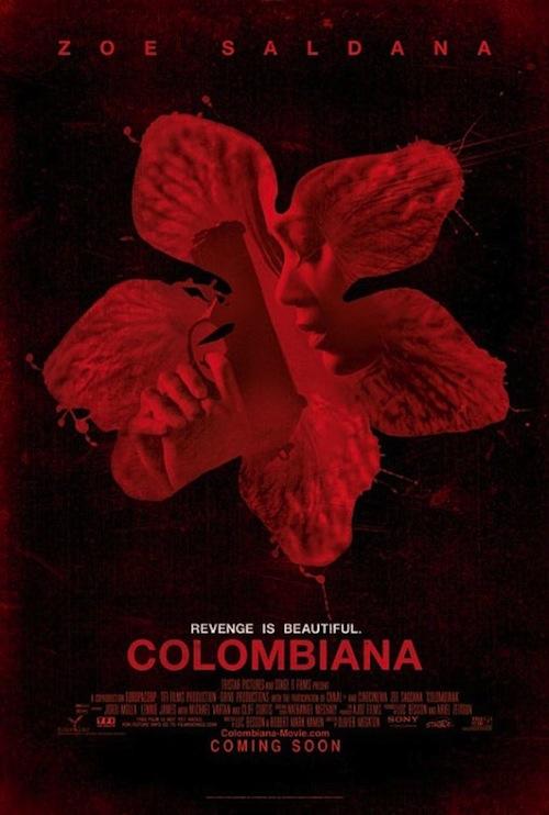 Colombiana második posztere