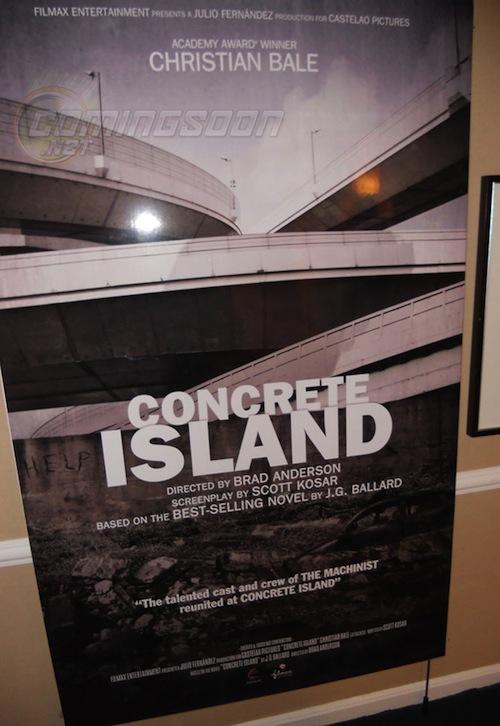 a Concrete Island promóposztere