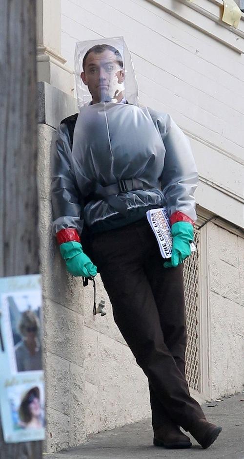 A Contagion forgatásáról érkezett képek