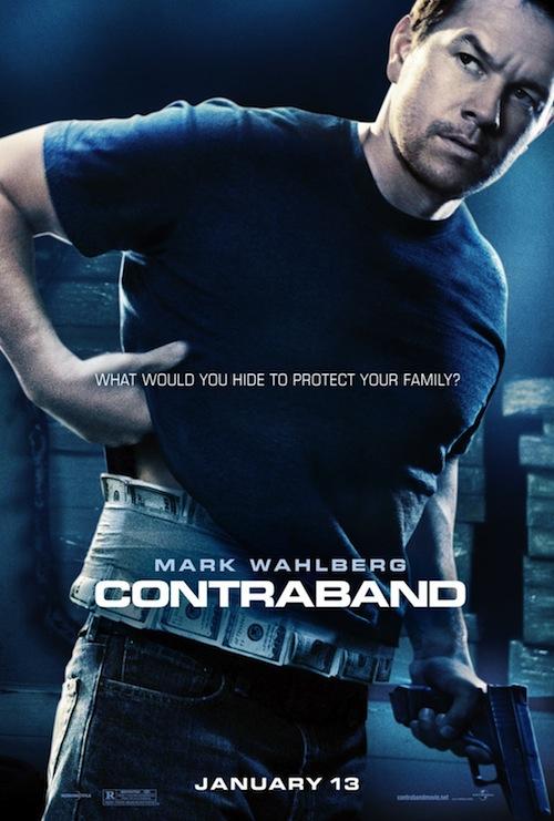 A Contraband poszterén Mark Wahlberg
