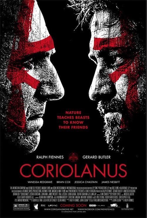 A Coriolanus posztere