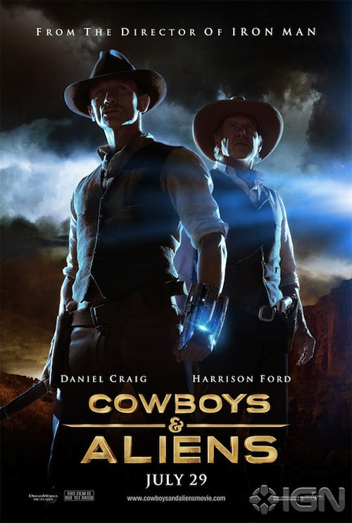 Cowboys and Aliens posztere