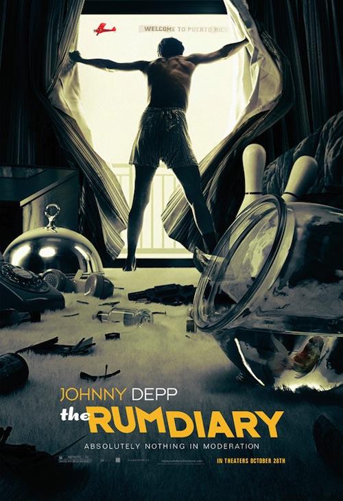 A Rum Diary legújabb posztere