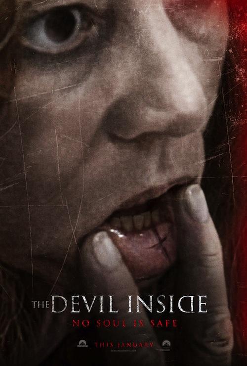 The Devil Inside teaserposztere