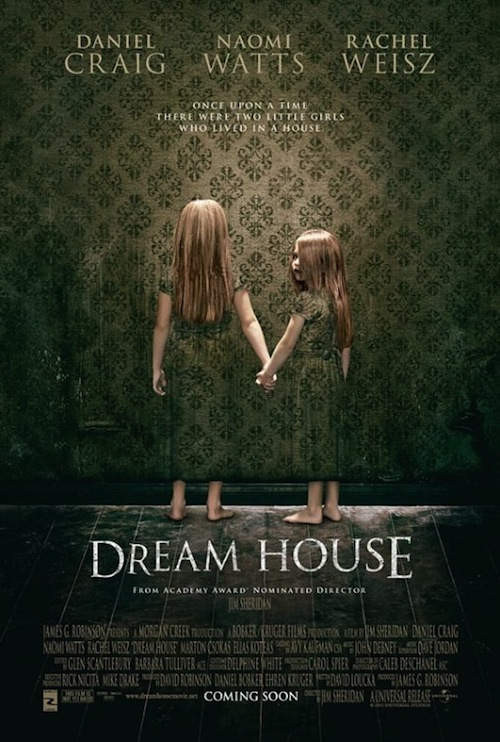 A Dream House creepy posztere