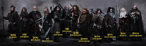 Dwarves from the Hobbit