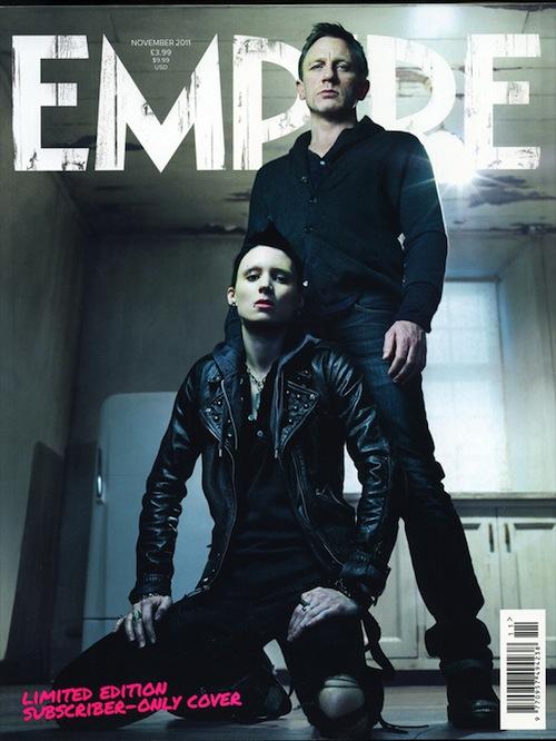 Dragon Tattoo képek az Empire magazinban