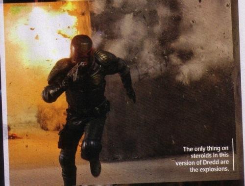 Dredd bíró az Empire magazinban