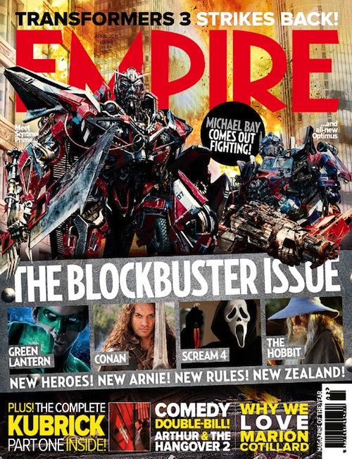 Sentinel Prime az Empire magazinban