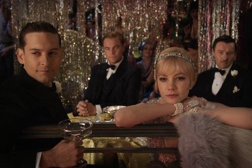 Grat Gatsby képeken a főszereplők