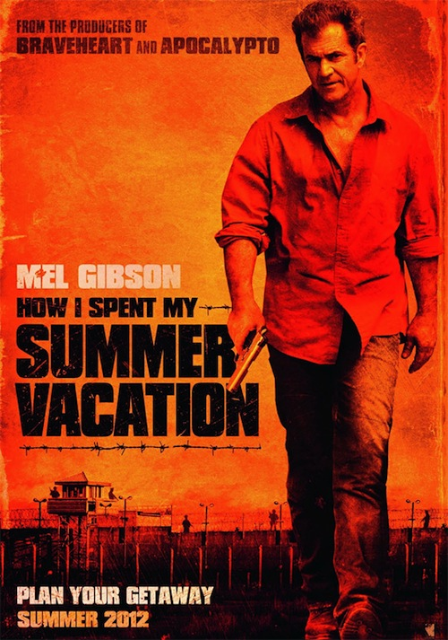How I SPent My SUmmer Vacation első posztere