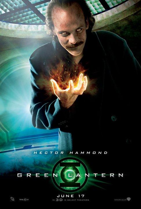 Dr. Hector Hammond a Green Lantern poszteren