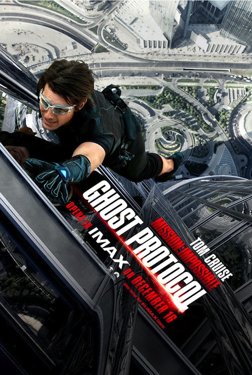 a Mission Impossible Ghost Protocol jobbik posztere