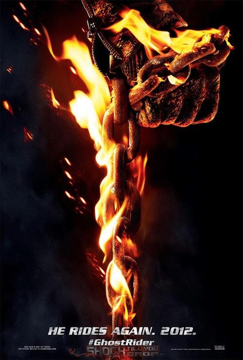 Ghost Rider: Spirit of Vengeance posztere