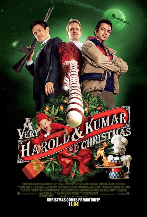 A Very Harold and Kumar Christmas poszterei