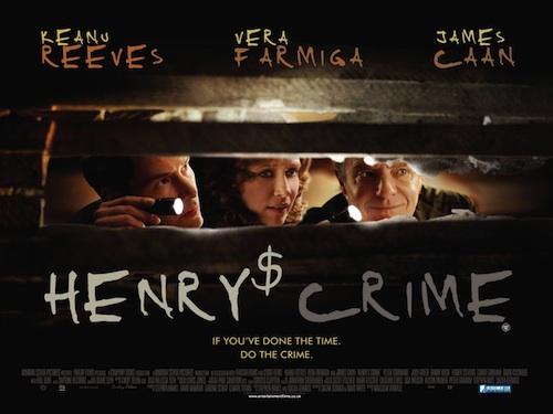 Henry's Crime posztere