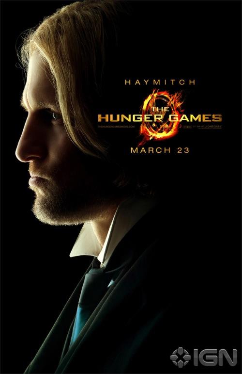 A Hunger Games főszereplői posztereken