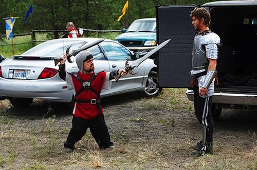 Első képek a Knights of Badassdomból