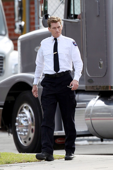 Denis Leary @Spider Man shooting