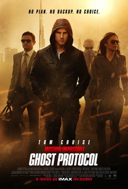A Mission Impossible Ghost Protocol legújabb posztere
