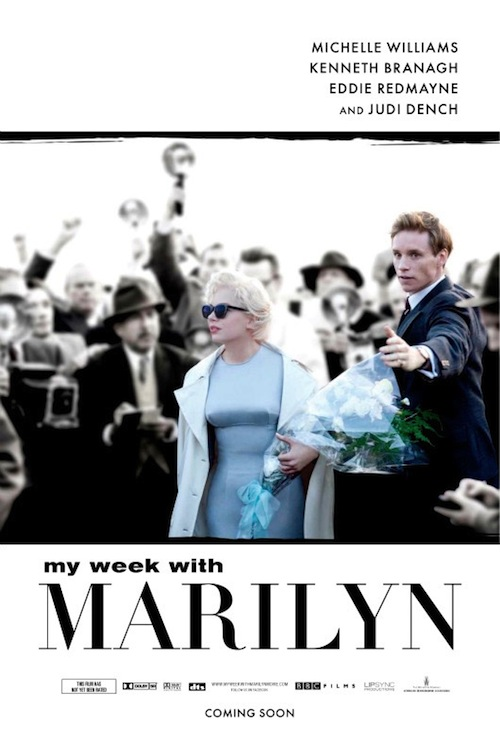 A My Week With Marilyn posztere