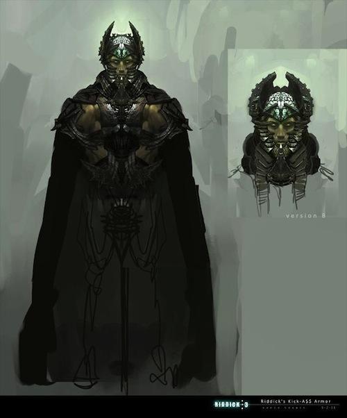 Riddick Necro páncélban