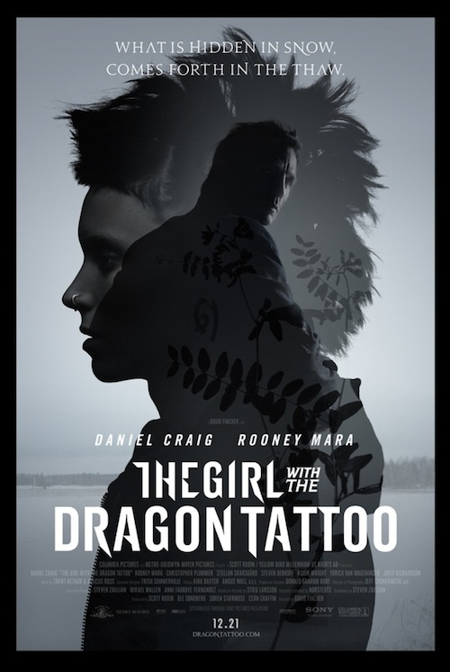 The Girl With The Dragon Tattoo új posztere