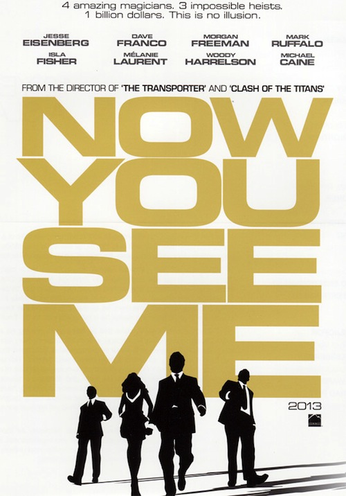 A Now You See Me első posztere