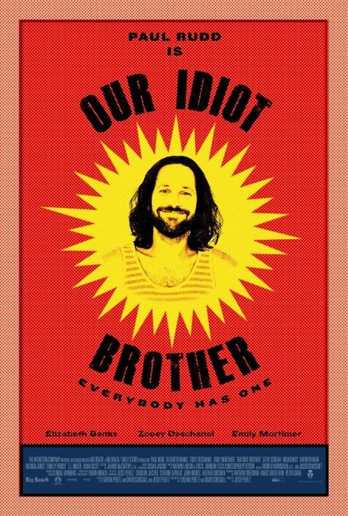 az Our Idiot Brother posztere