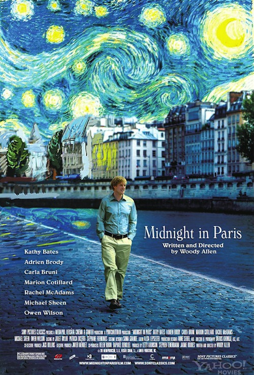 Midnight In Paris posztere